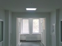 Освещение в областной клинической больнице Харькова