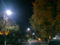 Освещение улиц Кременчуга светодиодными светильниками LED-SU-24