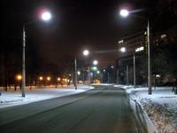 Освещение улиц Харькова светодиодными светильниками LED-SU-24