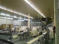 ООО Техноком г.Харьков осветили светодиодными светильниками конвейер и отдел упаковки