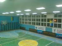 Светодиодное освещение спортивного зала школы г.Украинка, Обуховский р-н.
