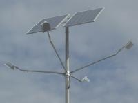 Внедрение проектов освещения светодиодными светильниками от солнечных батарей