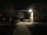 Светодиодное освещение от солнечных батарей. Крым.