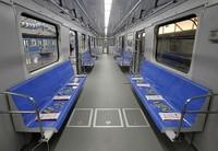Светодиодное освещение в вагонах метрополитена