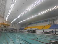 В 2014 году произведен ремонт системы освещения   бассейнов  ДФСК «Локомотив» г. Харьков.