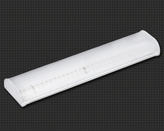 Светодиодный светильник, накладной, прямоугольный 5 Вт (аналог 1*18) с поликарбонатным рассеивателем